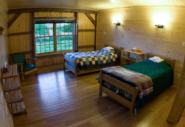 Coopers' Minipi Lodges - Anne Marie Lodge interior